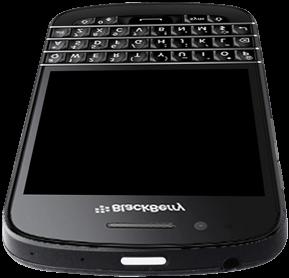 BlackBerry Q10 - Premiers pas - Découvrir les touches principales - Étape 4