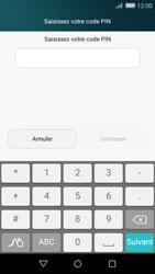Huawei P8 Lite - Sécuriser votre mobile - Activer le code de verrouillage - Étape 6