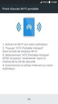 HTC Desire 825 - Internet et connexion - Partager votre connexion en Wi-Fi - Étape 15
