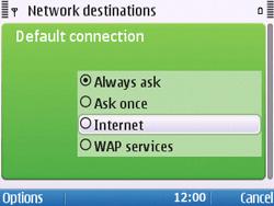 Nokia E5-00 - Internet - Manual configuration - Step 19