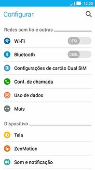 Asus Zenfone Go - Wi-Fi - Como configurar uma rede wi fi - Etapa 4