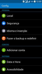 Samsung G530FZ Galaxy Grand Prime - Funções básicas - Como restaurar as configurações originais do seu aparelho - Etapa 4