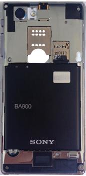 Sony Xperia J - Primeros pasos - Quitar y colocar la batería - Paso 7