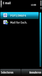 Nokia X6-00 - E-mail - e-mail instellen: POP3 - Stap 11