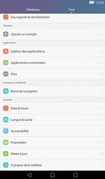 Huawei MediaPad T1 (7.0) - Réseau - Installation de mises à jour - Étape 4