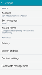 Samsung G901F Galaxy S5 4G+ - Internet - Manual configuration - Step 25