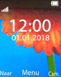 Nokia 108 - Netwerk - Gebruik in het buitenland - Stap 1