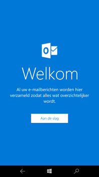 Microsoft Lumia 950 XL - E-mail - e-mail instellen (outlook) - Stap 4