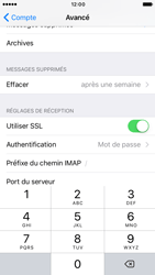Apple iPhone 6 iOS 10 - E-mail - Configurer l