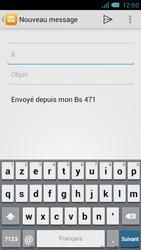 Bouygues Telecom Bs 471 - E-mails - Envoyer un e-mail - Étape 5