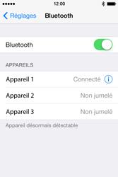 Apple iPhone 4s iOS 8 - WiFi et Bluetooth - Jumeler votre téléphone avec un accessoire bluetooth - Étape 6