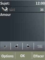 Nokia X3-02 - MMS - envoi d'images - Étape 10