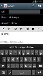 Samsung I9300 Galaxy S III - E-mail - Escribir y enviar un correo electrónico - Paso 9