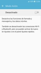 Samsung Galaxy S7 Edge - Funciones básicas - Activar o desactivar el modo avión - Paso 5