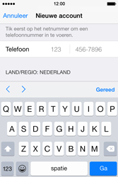 Apple iPhone 4s iOS 8 - Applicaties - Account aanmaken - Stap 24