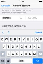 Apple iPhone 4S met iOS 8 (Model A1387) - Applicaties - Account aanmaken - Stap 24
