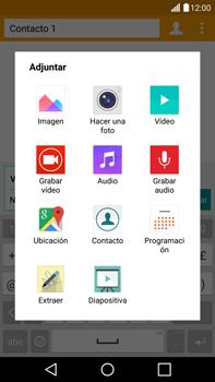 LG G4 - Mensajería - Escribir y enviar un mensaje multimedia - Paso 14