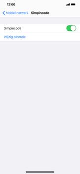 Apple iphone-xs-max-met-ios-13-model-a1921 - Beveiliging en ouderlijk toezicht - Hoe wijzig ik mijn SIM PIN-code - Stap 12