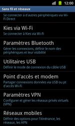 Samsung I8530 Galaxy Beam - MMS - configuration manuelle - Étape 6