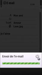 Nokia C5-03 - E-mail - envoyer un e-mail - Étape 12