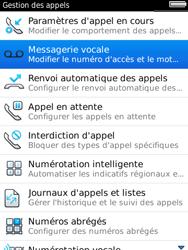 BlackBerry 9800 Torch - Messagerie vocale - Configuration manuelle - Étape 5