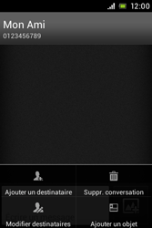 Sony C1505 Xperia E - MMS - envoi d'images - Étape 9
