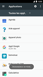 Motorola Moto C Plus - Applications - Supprimer une application - Étape 8