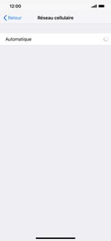 Apple iPhone XS Max - Réseau - Sélection manuelle du réseau - Étape 6