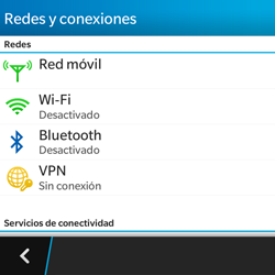 BlackBerry Q5 - WiFi - Conectarse a una red WiFi - Paso 5