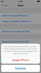 Apple iPhone SE - iOS 12 - Repor definições - Como repor definições de fábrica do telemóvel -  8