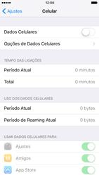 Apple iPhone iOS 10 - Rede móvel - Como ativar e desativar uma rede de dados - Etapa 5