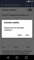 LG K4 - Internet et connexion - Désactiver la connexion Internet - Étape 6