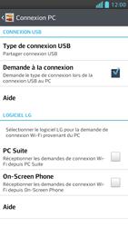 LG Optimus F5 - Internet et connexion - Utiliser le mode modem par USB - Étape 9
