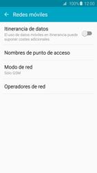Samsung Galaxy S6 - Red - Seleccionar el tipo de red - Paso 7