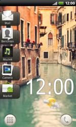HTC S510b Rhyme - E-mail - Algemene uitleg - Stap 1