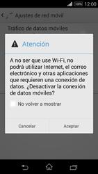 Sony D2203 Xperia E3 - Internet - Activar o desactivar la conexión de datos - Paso 7