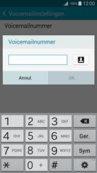 Samsung I9195i Galaxy S4 mini VE - Voicemail - Handmatig instellen - Stap 9