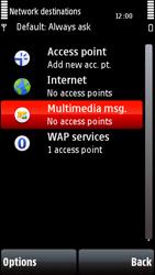 Nokia 5800 Xpress Music - Mms - Manual configuration - Step 6