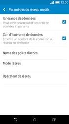 HTC Desire 610 - Aller plus loin - Désactiver les données à l'étranger - Étape 5
