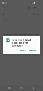 Samsung Galaxy S10e - E-mail - envoyer un e-mail - Étape 5