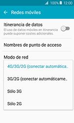 Samsung Galaxy J1 (2016) (J120) - Red - Seleccionar el tipo de red - Paso 6
