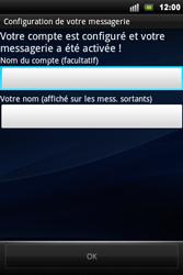 Sony Ericsson Xperia Mini Pro - E-mail - Configurer l