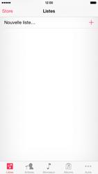 Apple iPhone 6 iOS 8 - Photos, vidéos, musique - Ecouter de la musique - Étape 3