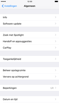 Apple iPhone 6 Plus iOS 10 - Software update - update installeren zonder PC - Stap 4