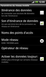 HTC A7272 Desire Z - MMS - configuration manuelle - Étape 7