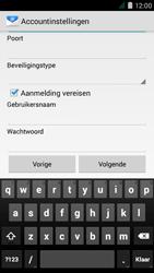 Acer Liquid Z410 - E-mail - Handmatig instellen - Stap 15