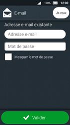 Doro 8031 - E-mails - Ajouter ou modifier un compte e-mail - Étape 8