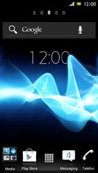Sony Xperia J - Bluetooth - Bluetooth - Übertragung von Daten - Schritt 1