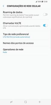 Samsung Galaxy S8 Plus - Internet no telemóvel - Como ativar 4G -  8