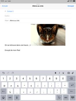 Apple iPad 9.7 (2018) iOS12 - E-mail - envoyer un e-mail - Étape 11